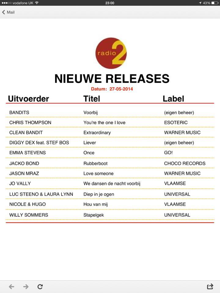 Radio2 Belgium
