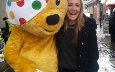 Emma Stevens and BBC Children in Need!