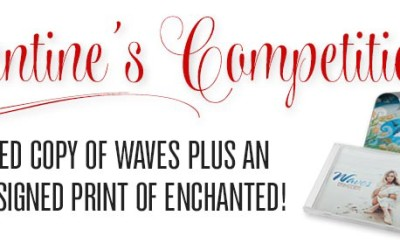 Win a Signed Waves CD plus an Exclusive Signed Print of the Enchanted Artwork!