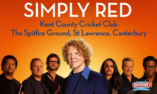Supporting Simply Red!