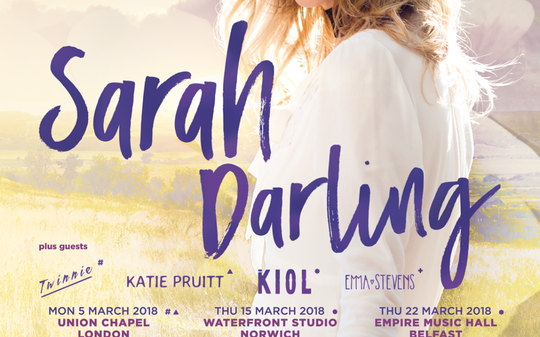 March Shows with Sarah Darling!